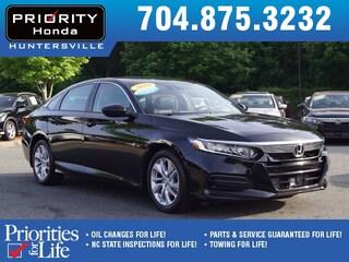 Certified Pre-Owned 2018 Honda Accord LX Sedan HT268788 Huntersville, NC