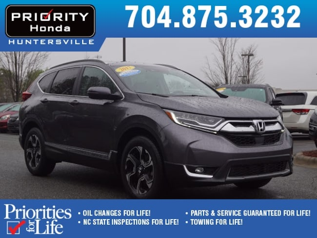 Certified Pre-Owned 2017 Honda CR-V Touring AWD SUV Huntersville