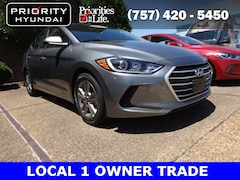 Certified Pre-Owned 2017 Hyundai Elantra SE Sedan Chesapeake