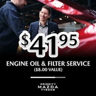 Engine Oil & Filter Service