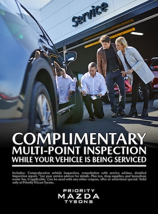 Complementary Multi-Point Inspection While Your Vehicle Is Being Serviced