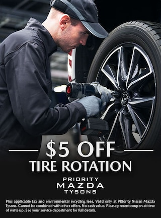 $5.00 off tire rotation