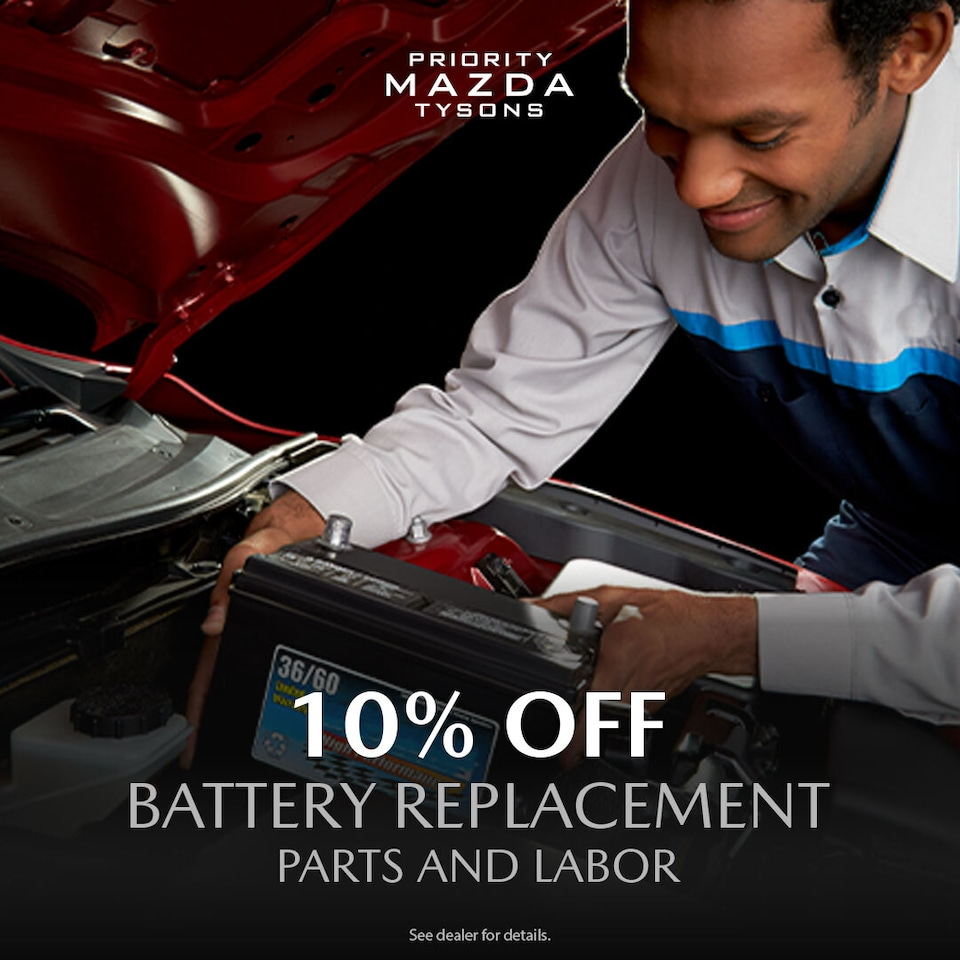 10% Off Battery Replacement