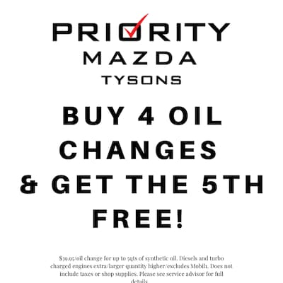 Buy 4 Oil Changes & Get the 5th Free!