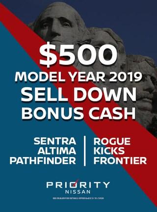 $500 OFF Select 2019 Models
