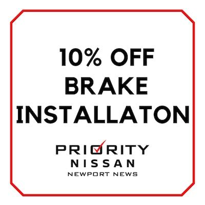 10% Off Brake Installation