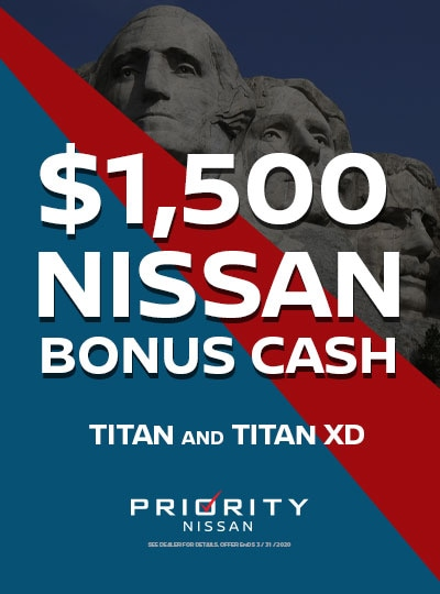 $1500 OFF 2019 Nissan Titan and Titan XDs
