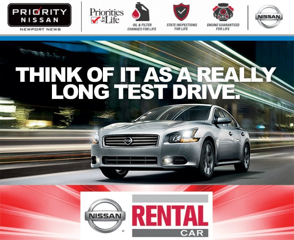 Priority Nissan Newport News | New Nissan dealership in Newport News ...