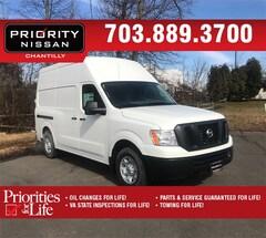 New 2019 Nissan NV Cargo NV2500 HD SV V6 Van High Roof Cargo Van Rear-wheel Drive in Williamsburg, VA