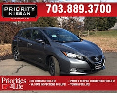 New 2019 Nissan LEAF SV Hatchback Front-wheel Drive in Williamsburg, VA
