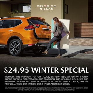$24.95 Winter Special