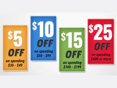 Save Up To $25!