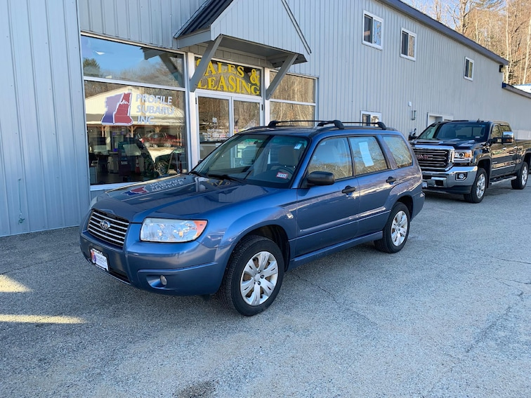 Used 2008 Subaru Forester X Wagon Conway New Hampshire