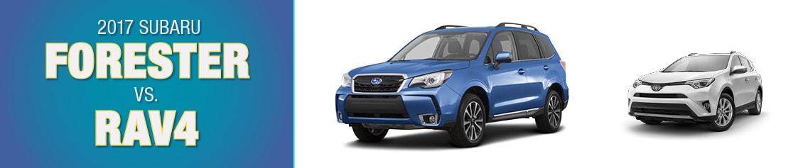 Subaru Forester vs Toyota RAV4 vs Honda CRV Conway NH  Compare
