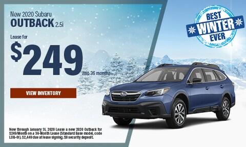 New 2020 Subaru Outback 2.5i