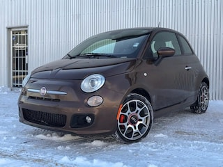 2012 Fiat 500 HB SPORT, LEATHER, BOSE SOUND SYSTEM. Hatchback