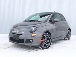 2013 Fiat 500 LEATHER, SUNROOF. Sedan