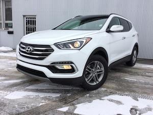 2018 Hyundai Santa Fe Sport AWD, BACKUP CAM, LEATHER, SUNROOF.