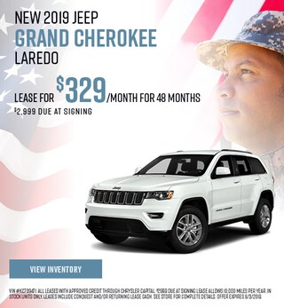 2019 Jeep Grand Cherokee Laredo - Lease