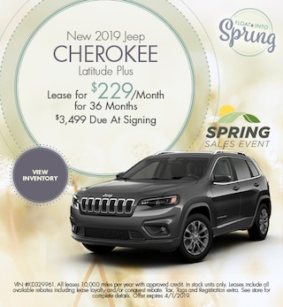 2019 Jeep Cherokee Lease - March