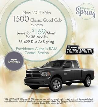 2019 RAM 1500 Classic Quad Cab - March