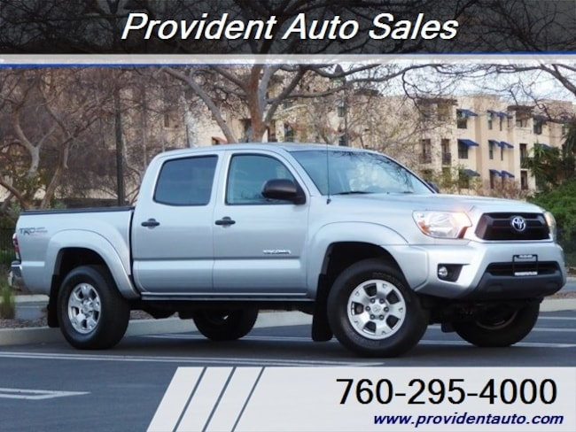 2012 Toyota Tacoma DOUBLE CAB 4X4 Truck Double Cab