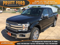 New 2018 Ford F-150 Lariat Truck SuperCrew Cab in Burkburnett, TX