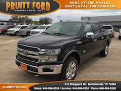 New 2018 Ford F-150 King Ranch Truck SuperCrew Cab in Burkburnett, TX