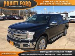 New 2018 Ford F-150 Lariat Truck SuperCrew Cab in Burkburnett, TX