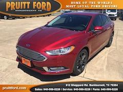 New 2018 Ford Fusion S Sedan in Burkburnett, TX
