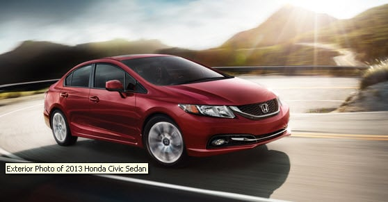 2013 Honda Civic Now Available At Honda Cars Of Corona