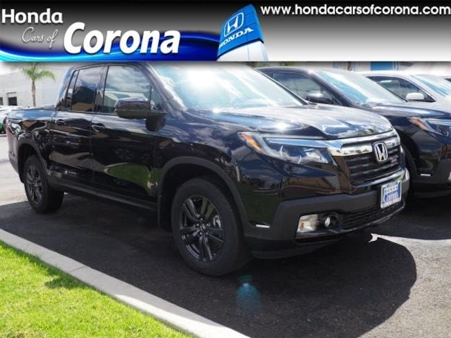 2019 Honda Ridgeline Sport AWD Truck Crew Cab for sale in Corona CA
