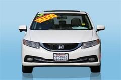 Bargain 2014 Honda Civic EX-L Sedan for sale in Oakland, CA