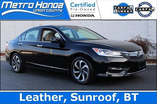 2016 Honda Accord EX-L Sedan 8951A for sale in the Charlotte, NC area.
