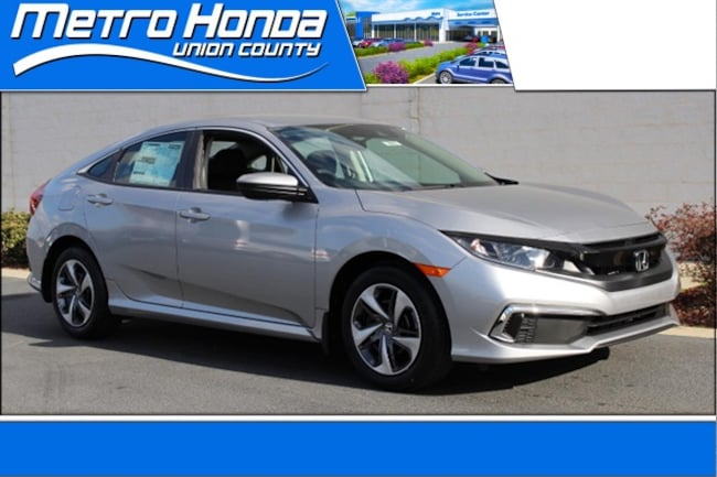 New Honda 2019 Honda Civic LX Sedan 9164 Indian Trail