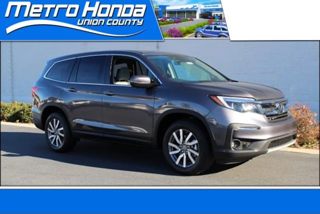 New Honda 2019 Honda Pilot EX-L w/Navi & RES FWD SUV 8623 Indian Trail
