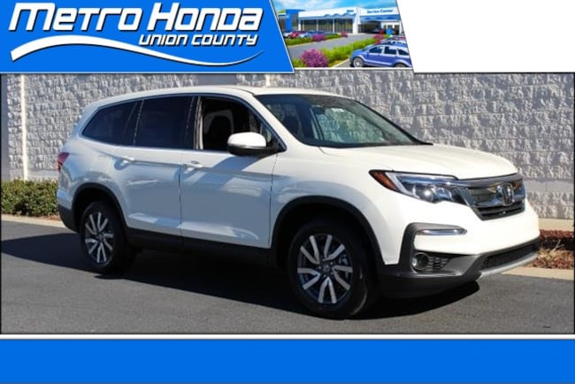 New Honda 2019 Honda Pilot EX-L FWD SUV 9383 Indian Trail