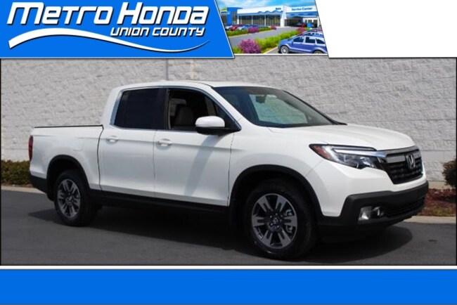 New Honda 2019 Honda Ridgeline RTL-T FWD Truck Crew Cab 8491 Indian Trail