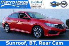 2017 Honda Civic EX Sedan 8186A for sale in Indian Trail, NC