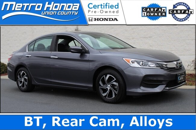 2016 Honda Accord LX Sedan 9024A for sale in Indian Train NC