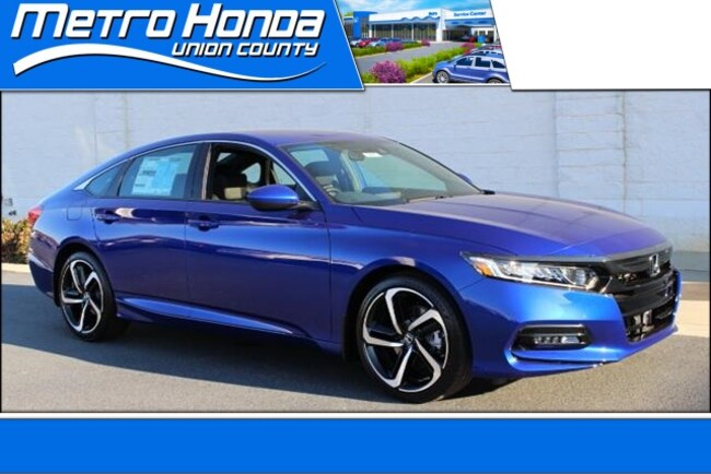 New Honda 2019 Honda Accord Sport Sedan 8855 Indian Trail