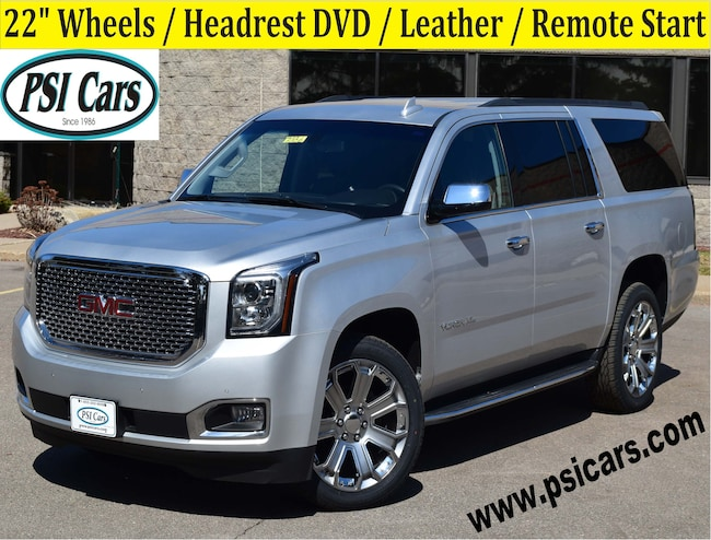 2018 GMC Yukon XL 22's / Headrest DVD / Leather / Remote Start SUV