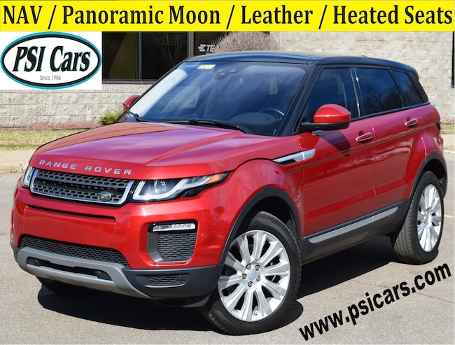 2016 Land Rover Range Rover Evoque HSE / NAV / Panoramic Moon / Leather SUV