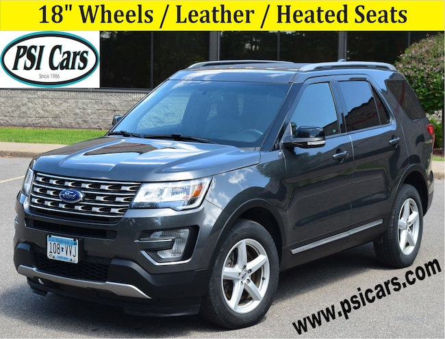 2017 Ford Explorer XLT / 18's / NEW Tires / Leather / Heated Seats SUV
