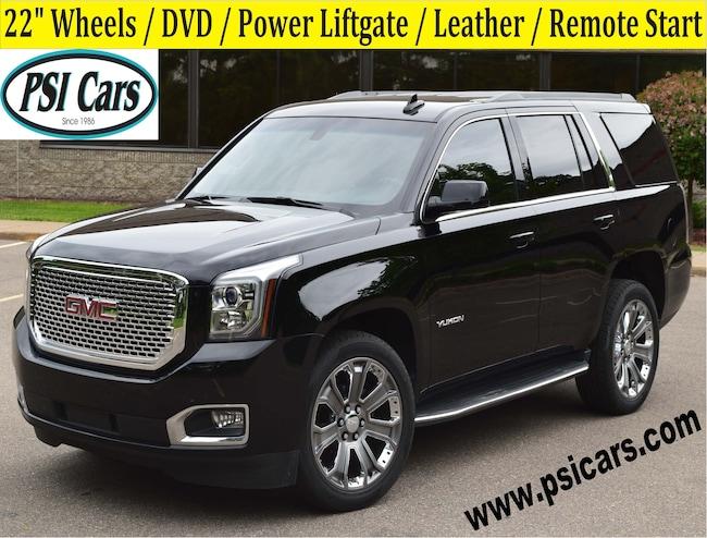 2016 GMC Yukon 22's / DVD / Power Liftgate / Leather SUV