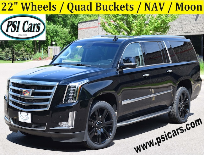 2018 CADILLAC Escalade ESV Luxury / 22's / Quad Buckets / NAV / Moon SUV