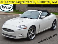 2007 Jaguar XKR Chrome Forged 20's / 420HP V8 / NAV Convertible