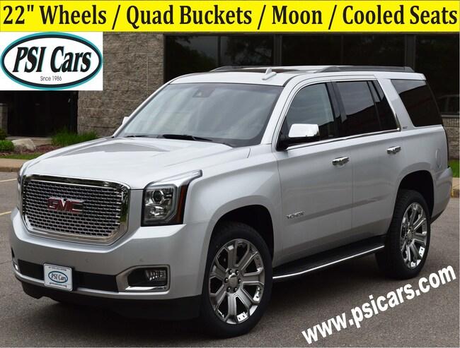 2018 GMC Yukon SLT / 22's / Quad Buckets / Moon / Cooled Seats SUV