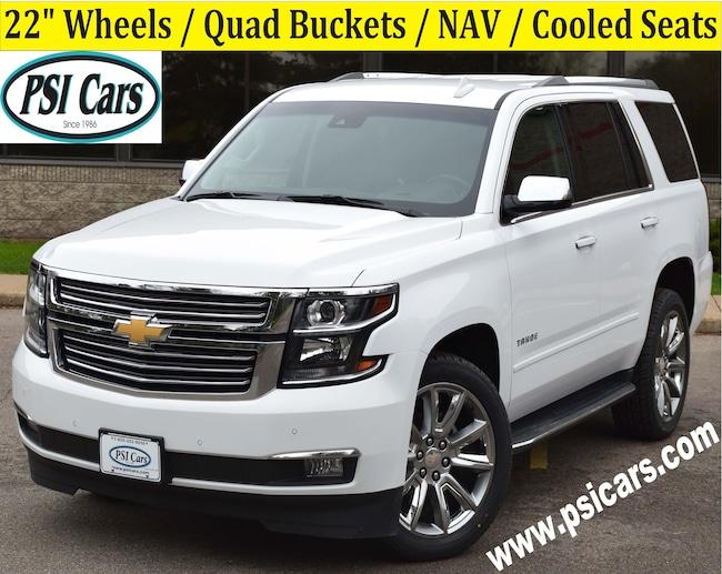 2018 Chevrolet Tahoe Premier / 22's / Quad Buckets / NAV / Cooled Seats SUV