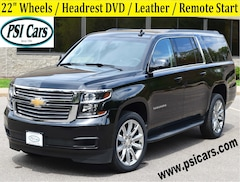 2019 Chevrolet Suburban 22's / Headrest DVD / Leather / Remote Start SUV